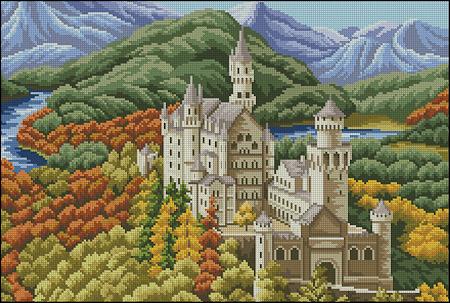 Дворцы, замки | Просмотров: